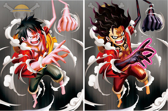 PET Poster Anime ONE PIECE 3D Lenticular Printing Service